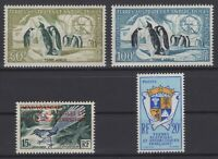 CG141725/ FRENCH ANTARCTIC / Y&T # 1 - 15 – AIR # 2 / 3 MINT MH CV 197 $