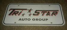 TRI STAR AUTO GROUP PHEONIX ARIZONA Jeep Ford Dodge Ram Kia DEALER LICENSE PLATE
