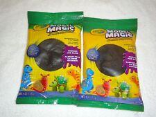 2 New Crayola Model Magic 4 Oz Each Black