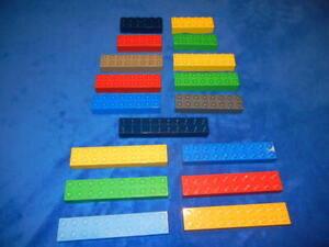 Lego Duplo Baustein 20er 2 X 10er 16er 2 X 8er Noppen 12er 2 X 6er Noppen Wähle