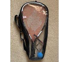 New listing Ektelon Power Fan 1100 Racquetball Racquet Ball Carrying Case Eye Protection