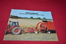 International Harvester Forage Harvester Forage Wagon Dealers Brochure YABE14