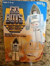 GoBots SPAY-C Tonka 1983 Friendly Robot Space Ship Die-Cast New On Sealed Card
