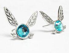 Legend of Zelda Navi Earrings, studs, blue fairy, hey listen