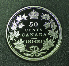 2011 Canada Special edition 50 cent from set: Centennial of the 1911 dollar coin