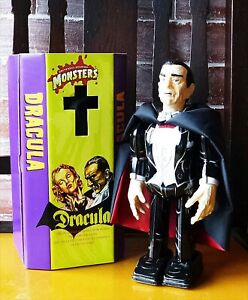 Universal Monsters Dracula Wind-up toy tin walk MADE IN JAPAN NEW