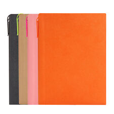 Leather Journal / Writing Notebook/Blank Diary / Lined Pages Book w/ Pen Slot HW