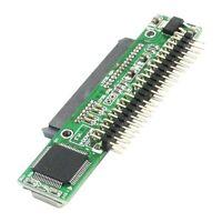 """7 + 15 Pin SATA SSD HDD Buchse zu 2,5 """"44 Pin IDE Stecker Adapter fuer Laptop"""
