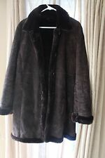Vintage Women's Marvin Richards Genuine Leather Suede Jacket Coat Medium