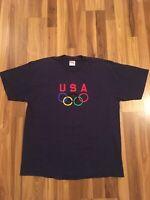 Vintage Team USA Olympics T Shirt Size XL