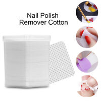 180 Pcs/Box Lint-Free Nail Polish Remover Cotton Wipes Nail Art Soft Wipes Tool