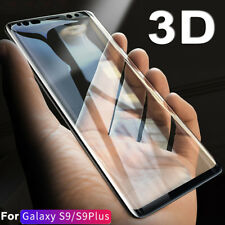 Real 5D Tempered Glass Film for Samsung Galaxy S9 Plus A8 Full Screen Protector