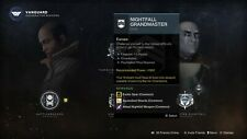 Grand Master Nightfall completion (Must be 1335+) - PS4/5/Xbox