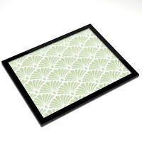 Glass Placemat 20x25 cm - Elegant Art Deco Pattern  #12535