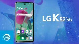 LG K92 5G  - 128GB - Titan Gray (AT&T) (Single SIM) NIB FACTORY SEALED