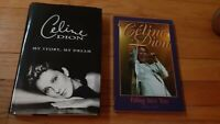 2 Celine Dion Biographies Falling Into You AND My Story My Dream