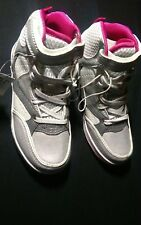 Shoes White Grey Size UK 12 Kids, Size Euro 31, Casual Trainers