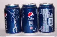 Turkey Rare Pepsi Michael Jackson Top Opened 330 mL Can!!!