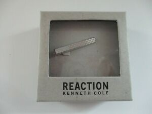 NEW! Kenneth Cole REACTION Classic Necktie Tie Bar Clasp Clip - Ships Free