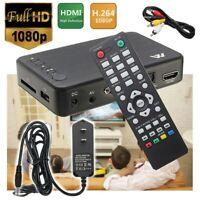 1080P Full-HD Portable Digital Player USB Drive/SD Cards Video Play HDMI/AV/VGA