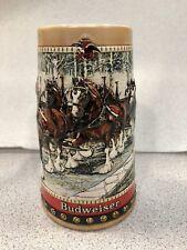Vintage Collectible 1988 Anheuser Busch Budweiser Clydesdales Beer Stein