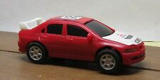 1/43 MITSUBISHI RALLY SLOT CAR IN RED - GOOD CONDITION