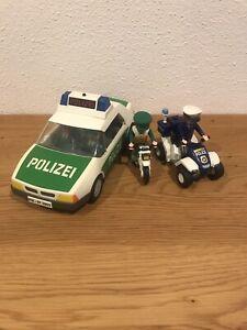 Playmobil Polizei Auto Motorrad Quad