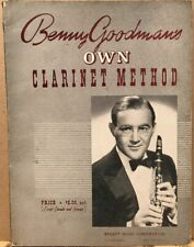 Benny Goodman's Own Clarinet Method~Vintage 1941 Music Instruction~1st Edition