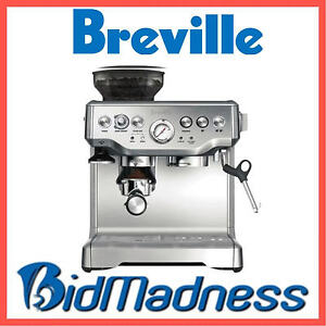 BREVILLE BES870BSS the BARISTA EXPRESS™ COFFEE MACHINE  2 LITRE    2 YRS WNTY