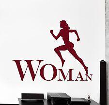 Vinyl Decal Running Jogging Sport Fitness Cool Wall Sticker Living Room z3841