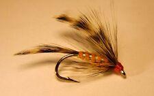 2- Chappie #6 Wet flies- Cutthroat Trout Bream