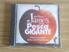 JAMES E LA PESCA GIGANTE (RANDY NEWMAN) - CD DISNEY NUOVO SIGILLATO (SEALED)