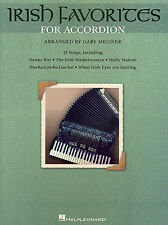 Irish Favorites For Accordion Learn to Play Songs Tunes Music Book