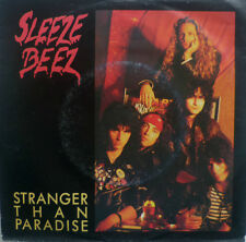 "7"" 1989 ROCK! SLEEZE BEEZ Stranger Than Paradise /VG++"
