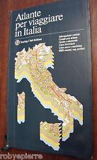 Atlante per viaggiare in Italia touring club cartine automobilistice notizie '92