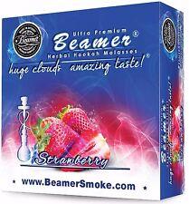Strawberry Beamer Molasses 50g Hookah Shisha Nargila pipe Tobacco Free
