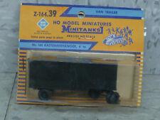 Roco Minitanks (NEW) 1/87 WWII US M-119 6T Closed Van Trailer Lot #2631K