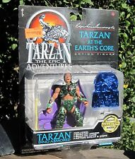 1995 Trendmasters Tarzan Epic Adventures Action Figure Tarzan Dino Armored MOC