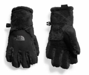 The North Face Girls Osito Etip Glove Black Size Medium