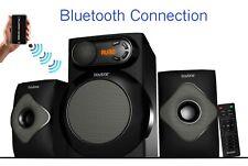 Boytone 2.1 CHANNEL BLUETOOTH HOME THEATER SPEAKER SHELF STEREO SYSTEM, USB Port
