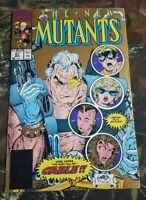 The New Mutants #87 Gold 2nd Print Variant Marvel Comics 1st Appearance Cable CT
