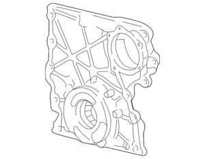 Genuine GM Front Cover 12628565