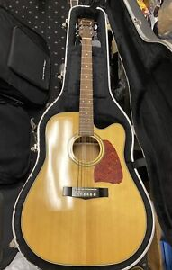Ibanez AW100CE Artwood Series 6-String Acoustic/Electric Guitar