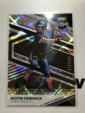 New Listing2020 Elite Extra Edition Prime Numbers Austin Hendrick /195 Reds