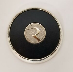 Vintage Ryerson Corporation Paperweight Coaster Includes Box 3.75""