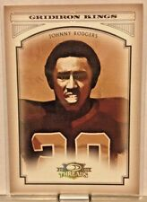 2006 DONRUSS THREADS GRIDIRON KINGS #'d/100 JOHNNY RODGERS           WM5
