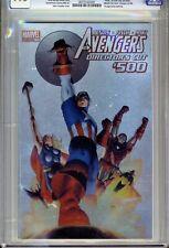 1)CGC 9.8-AVENGERS #500(9/04)DIRECTOR'S CUT(D:ANT-MAN/JACK OF HEARTS)ULTRA-RARE!