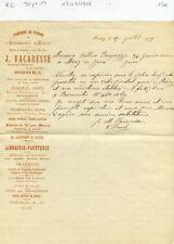 Dépt 12 - Rodez Boulevard d'Estournel - Religion Ornements d'Eglise  17/07/1909