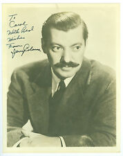 Signed Vintage Actor Jerry Colonna 8x10 Inch Inscribed Photo