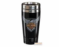 HARLEY-DAVIDSON® 115TH ANNIVERSARY LIMITED EDITION STAINLESS STEEL TRAVEL MUG